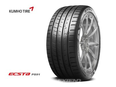 Kumho Ecsta PS91 225/ 40/ 18 18全規格 pss cup2 ps71 re003 ps4 ps3 新北市