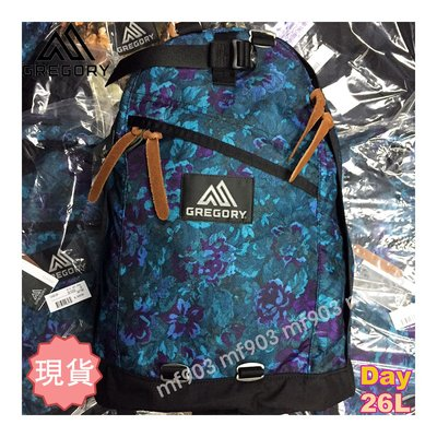 最平行貨 Gregory Day Pack 26L Blue Tapestry Backpack 藍花經典書包 潮流背囊 Arro22 Visvim Y3