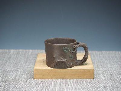 *晉瑞-茶道具*戴忠琴.青灰深紫柏杯.主人杯.咖啡杯