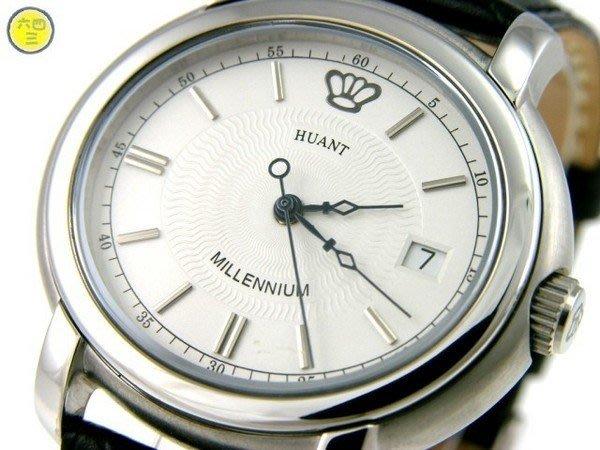 (六四三鐘錶精品店)HUANT(皇督真品)瑞士ETA機芯.自動上鍊.........