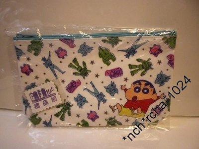 (現貨) 日本製 約高13cm 扁身 拉鍊 筆袋 多用途包包 蠟筆小新 Crayon Shinchan 日本直送 全新品