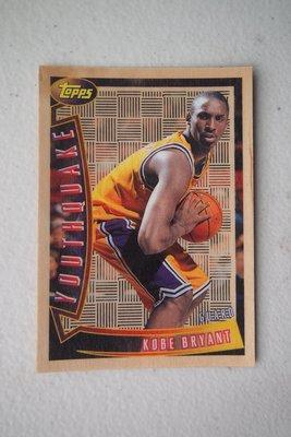 1996-97 Topps Youthquake #YQ15 Kobe Bryant