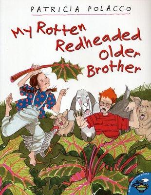 *小貝比的家*MY ROTTEN REDHEADED OLDER BROTHER/平裝/3~6歲