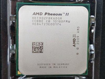 【含稅】AMD Phenom II X6 1090T 3.2G HDT90ZFBK6DGR 六核 正式 CPU 一年保