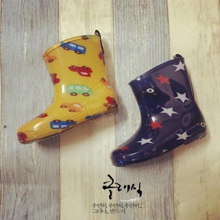 兒童雨鞋小童水鞋男女寶寶環保材質鞋子雨靴踩水套鞋