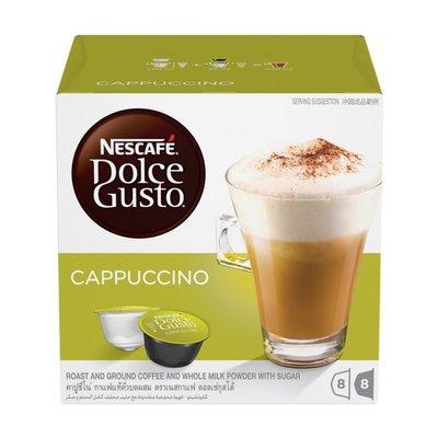(全新未拆封)雀巢 Nescafe Dolce Gusto 卡布奇諾咖啡膠囊 咖啡膠囊一盒(每盒共8杯入)