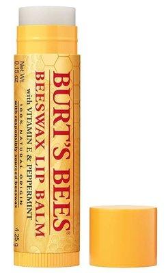 【蘇菲的美國小舖】美國Burts Bees 蜂蠟 小蜜蜂 護唇膏 老爺爺圖樣 單管 4.25g 特價