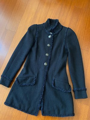 (售出欣賞)Chanel香奈兒大衣外套
