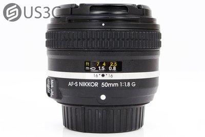 【US3C】公司貨 尼康 Nikon AF-S 50mm F1.8 G 銀框特別版 大光圈 定焦鏡