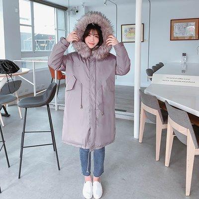 【ZEU'S】慵懶男友風寬鬆保暖羽絨棉外套『 02220901 』【現+預】AB