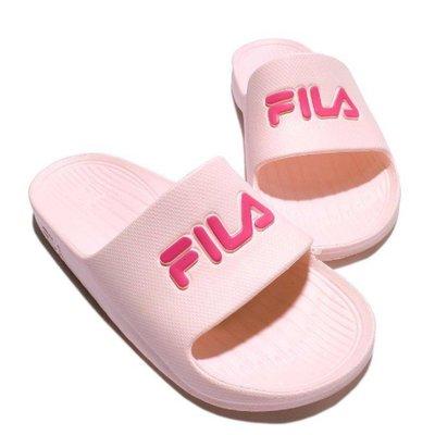 5號倉庫 FILA 運動拖鞋 全防水 止滑 休閒 輕便 粉紅色 原價680 現貨 台灣公司貨