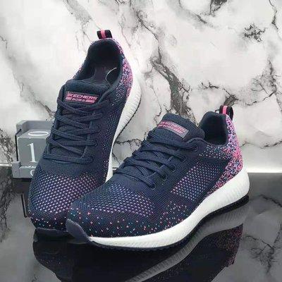 Skechers斯凱奇2020新款女鞋網面馬拉松跑鞋活力運動系帶設計穿脫方便時尚網面休閒鞋32501