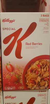 【麻煩天使】好市多Kellogg'S Special K家樂氏草莓早餐脆片~~