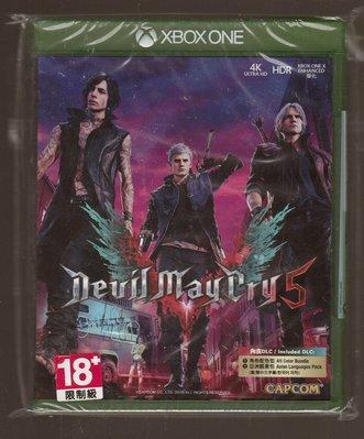 全新XBOX ONE原版片 中文版 惡魔獵人5