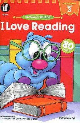 國中英文閱讀與寫作 I Love Reading 3《Homework Booklet》原價110元【新書 未使用】