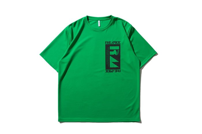 "[ LAB Taipei ] REMIX 18"" S/S ENGINEERING TECH TEE [ 綠 ]"