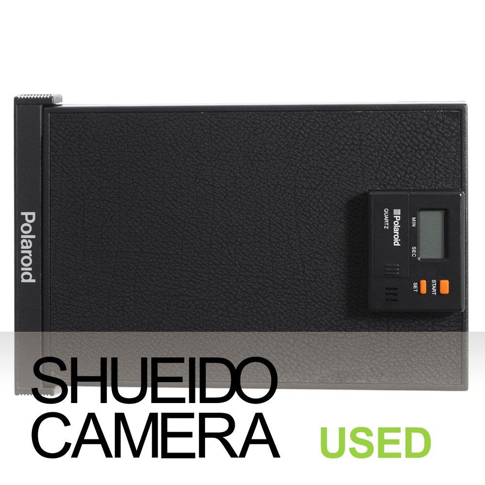 集英堂写真機【全國免運】中古現狀品 / POLAROID QUARTZ 拍立得片盒 片夾 ??用 21130
