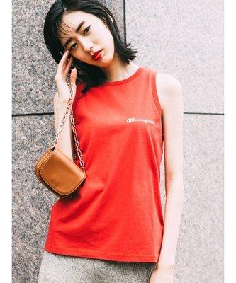 [全新|免運]日本正品 Fray I.D x Champion 紅色刺繡小logo背心