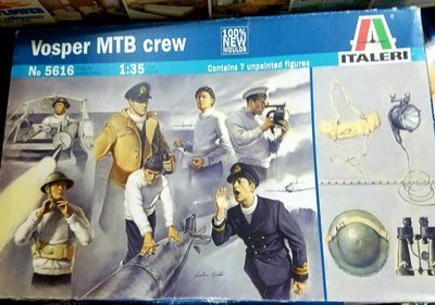 Italeri -5616-Vosper Crew-1/35-加3元手續費 -M-300