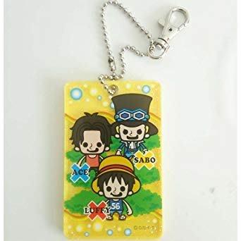 41+本通@gift41 海賊王 One Piece 航海王 魯夫 薩波 艾斯 硬式 票卡夾 4930972290368