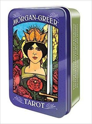 【預馨緣塔羅鋪】現貨正版摩根吉爾塔羅鐵盒版Morgan-Greer Tarot (全新78張)