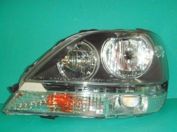 》傑暘國際車身部品《 超炫外銷尊榮極緻凌志LEXUS-RX300黑框大燈一顆3200必殺版
