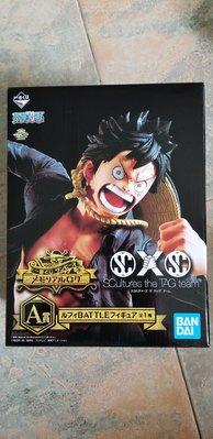 全新18年12月 One Piece 海賊王 一番賞A賞 路飛