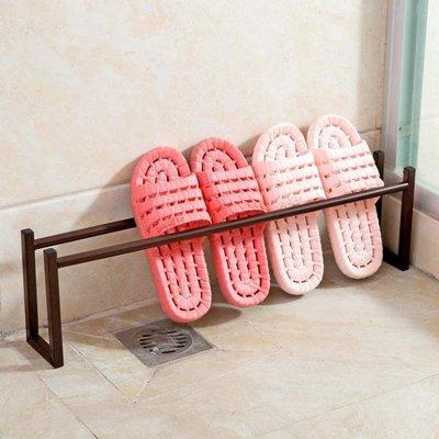 簡易拖鞋鞋架浴室置物架宿舍鐵藝架子家用 GY1589