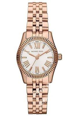 ♥USA代購驛站♥100%美國全新正品 Michael Kors品牌 MK3230 時尚休閑玫瑰金不繡鋼中性手錶  腕錶