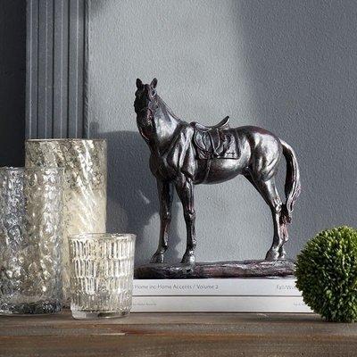 〖洋碼頭〗歐式美式樹脂馬擺件 軟裝樣品房書櫃酒櫃工藝品飾品擺件 shx269
