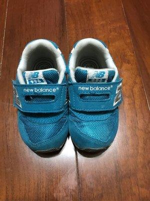現貨 二手 New balance 996系列藍綠色運動童鞋 運動鞋