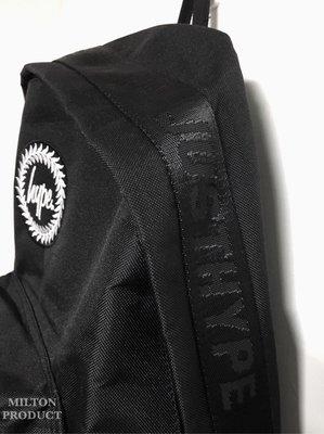 HYPE TAPING BACKPACK 織帶 黑 後背包 旅行包 男 女 款 英國空運