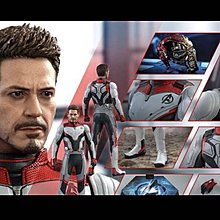 Hottoys 單 Marvel Avengers End Game Tony Stark Suit Up