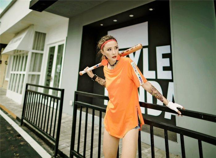 時尚潮流日式拼接 短袖顯瘦女神短袖T恤 純棉T恤 織帶T恤 819200 Baonizi 寶妮子
