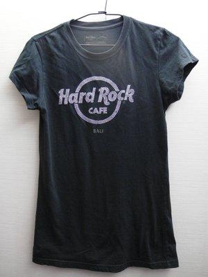 美國Hard Rock 女子黑色短袖T恤