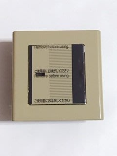 【高雄日電行】日本原裝松下Panasonic 國際牌 COSMO WT5001單切有指示燈 土黃色方形開關