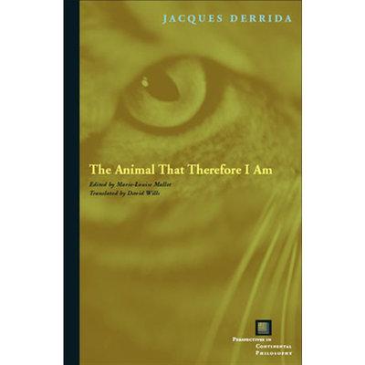 【中商原版】雅克·德里達:因為我是動物 英文原版 The Animal That Therefore I Am