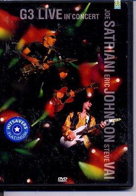 美版全新DVD~G3-跨世紀之音吉他演奏/G3: Live In Concert~Steve Vai~下標就賣