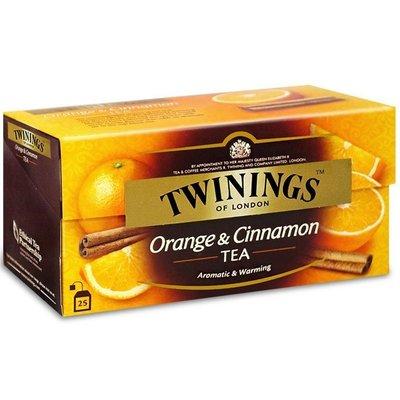 TWININGS 英國 唐寧茶 沖泡式茶包  香橙肉桂(2gx25入) 最後一組
