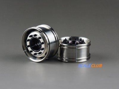 【喵喵模型坊】SCALECLUB 1/14 超級寬胎 385 用輪圈 2入 (LG-FK-1)