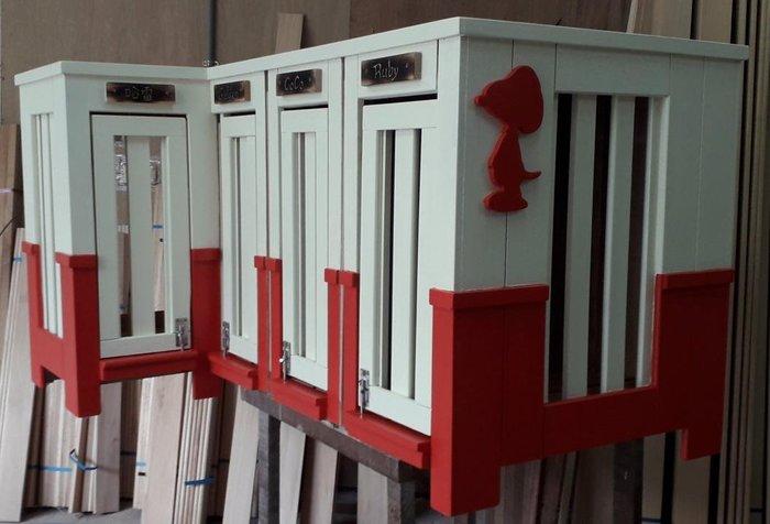 Snoopy史努比狗屋,來啦,老麥狗屋設計製作提供