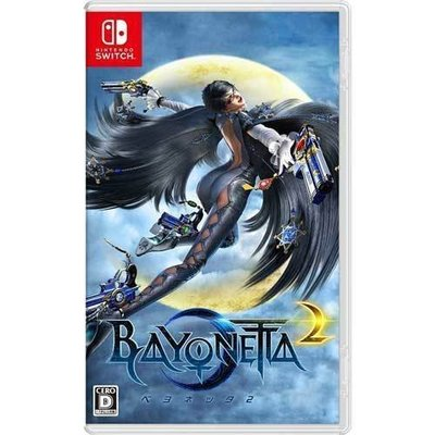 Nintendo Switch NS Bayonetta 2 魔兵驚天錄2 日英文合版 售 1600