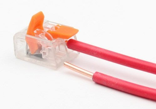 導線接線端子萬能緊湊型電線連接器四孔軟線硬線通用15個130元
