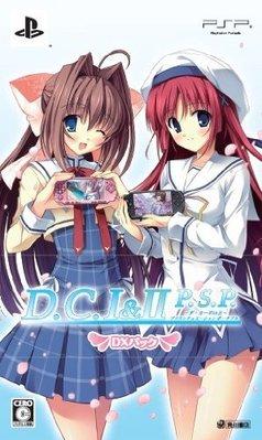 [日版DX限定版] D.C. I&II P.S.P. 初音島 戀愛學園 1 & 2 合集 二手