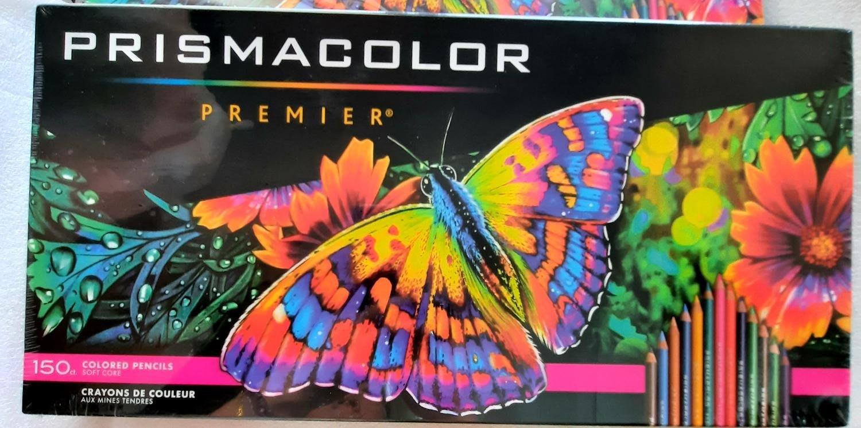 新包裝秒現貨 盒完整 美國 Prismacolor 頂級油性色鉛筆 150色 , 當天出貨 可貨到付款
