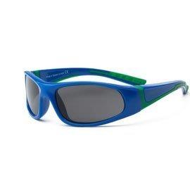【魔法世】RKS音速閃電兒童太陽眼鏡4-7歲/綠深藍RKS4-01296 (UV400鏡片,可完全過濾UVA和UVB)