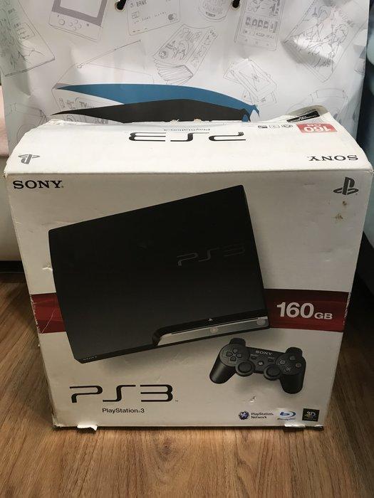 二手黑色主機 PS3 型號CECH-2507A 容量160GB 含17種遊戲片
