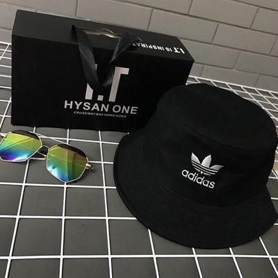 Adidas-愛迪達-三葉款-漁夫帽-男女通用-急單專區-當天下標最快隔天可收到