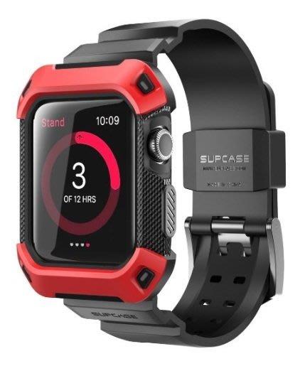 ㊣USA Gossip㊣ SUPCASE Apple Watch 42mm 全包式 運動專用錶帶