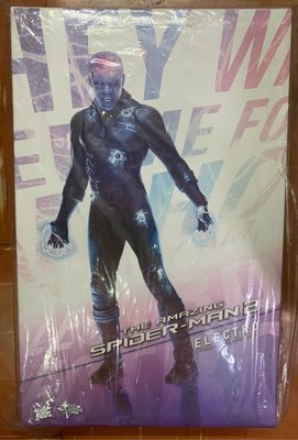 全新未開封 HOTTOYS Hot Toys 1/6 MMS246 Amazing Spider-Man 2 蜘蛛俠Electro 電魔